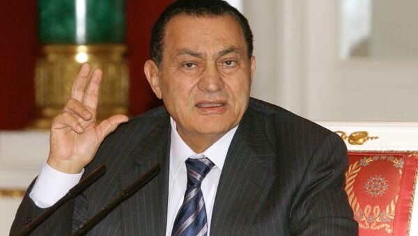 La vida del expresidente de Egipto Hosni Mubarak  - Sputnik Mundo