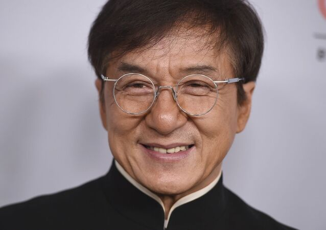 El actor Jackie Chan