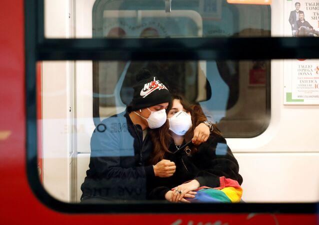 Situación en Italia debido al nuevo coronavirus