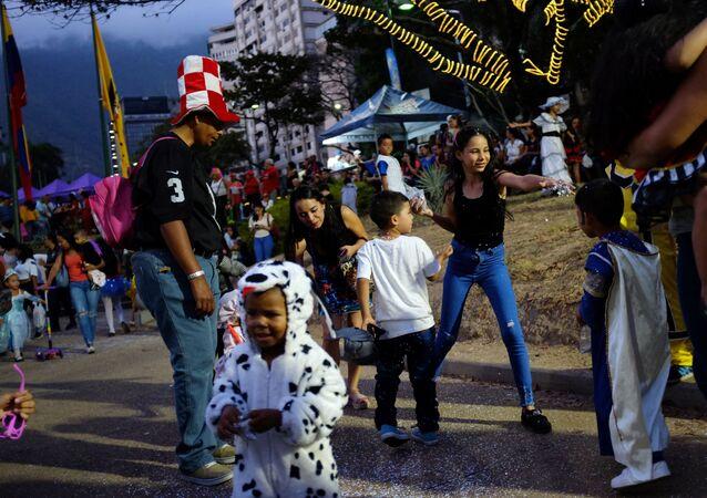 El Carnaval de Caracas, Venezuela