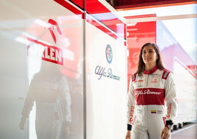 Tatiana Calderón, piloto de Fórmula 1