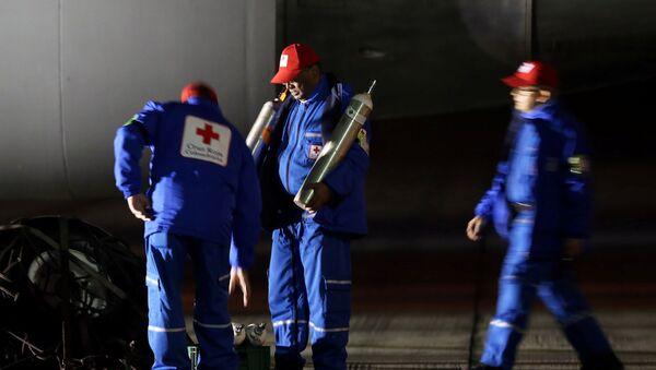 Los empleados del aeropuerto en Bogotá - Sputnik Mundo