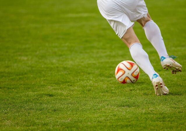 Un jugador de fútbol