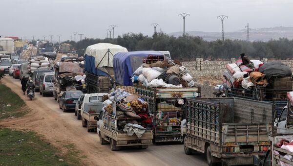 Los desplazados en Siria - Sputnik Mundo
