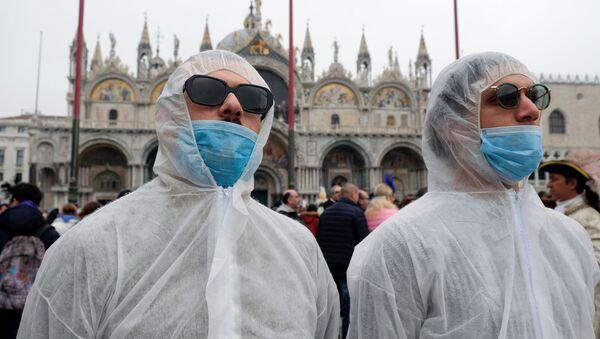 Turistas en Italia - Sputnik Mundo