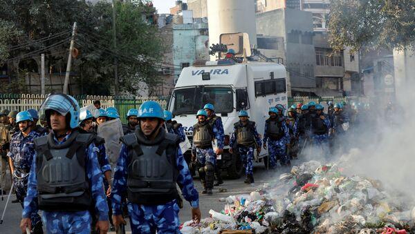 Disturbios en Nueva Delhi - Sputnik Mundo