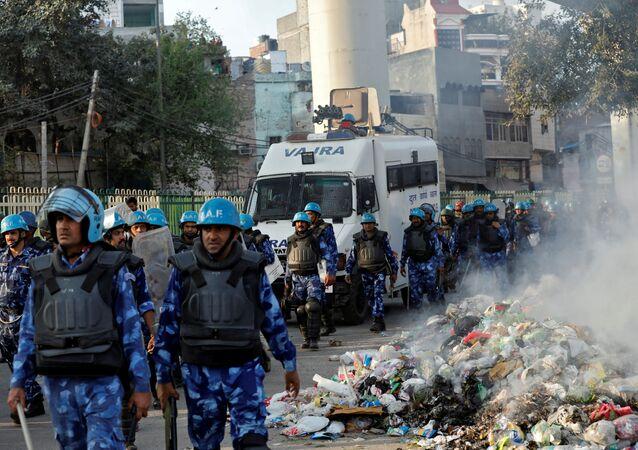Disturbios en Nueva Delhi