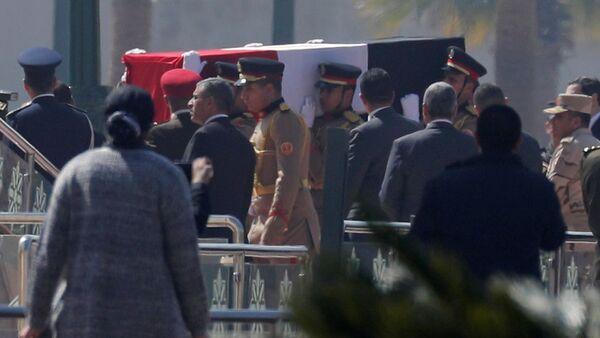 Funerales del expresidente de Egipto Hosni Mubarak - Sputnik Mundo