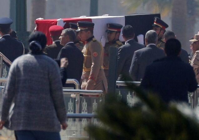 Funerales del expresidente de Egipto Hosni Mubarak