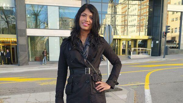 Jeisy Escorcia, transexual colombiana de 28 años, pide asilo en España. - Sputnik Mundo