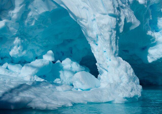 Unos glaciares (archivo)