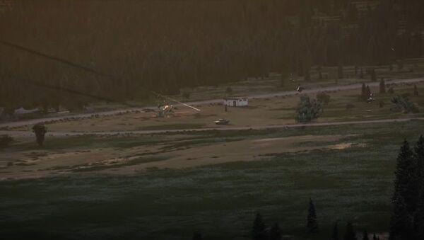 Captura de pantalla del vídeo publicitario del fabricante estadounidense de helicópteros Bell - Sputnik Mundo