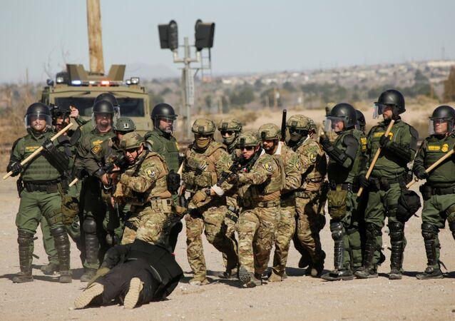 Guardia fronterizo de EEUU