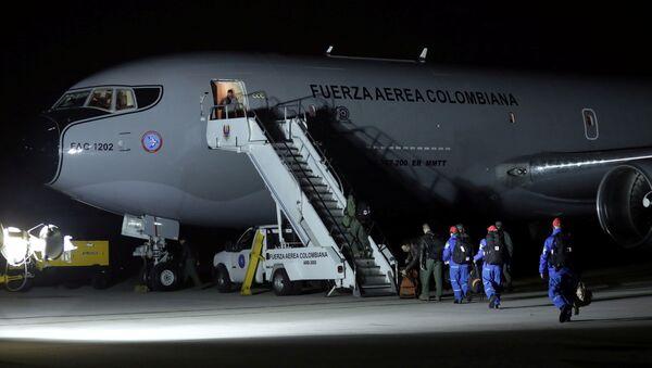 La misión médica y militar colombiana de evacuación de la ciudad china de Wuhan - Sputnik Mundo