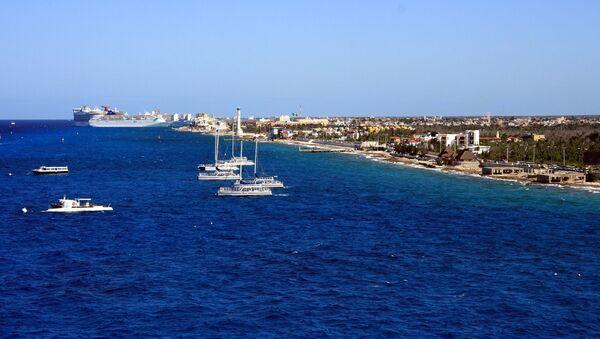 Puerto mexicano de Cozumel - Sputnik Mundo