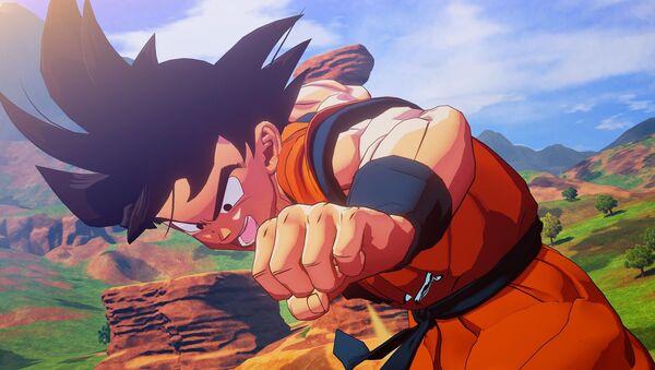 Gokú, personaje principal de Dragon Ball - Sputnik Mundo