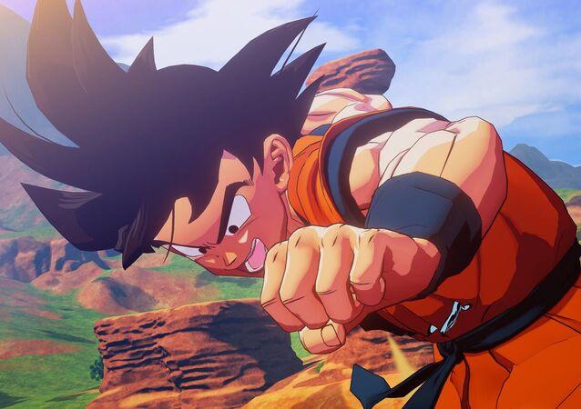 Gokú, personaje principal de Dragon Ball