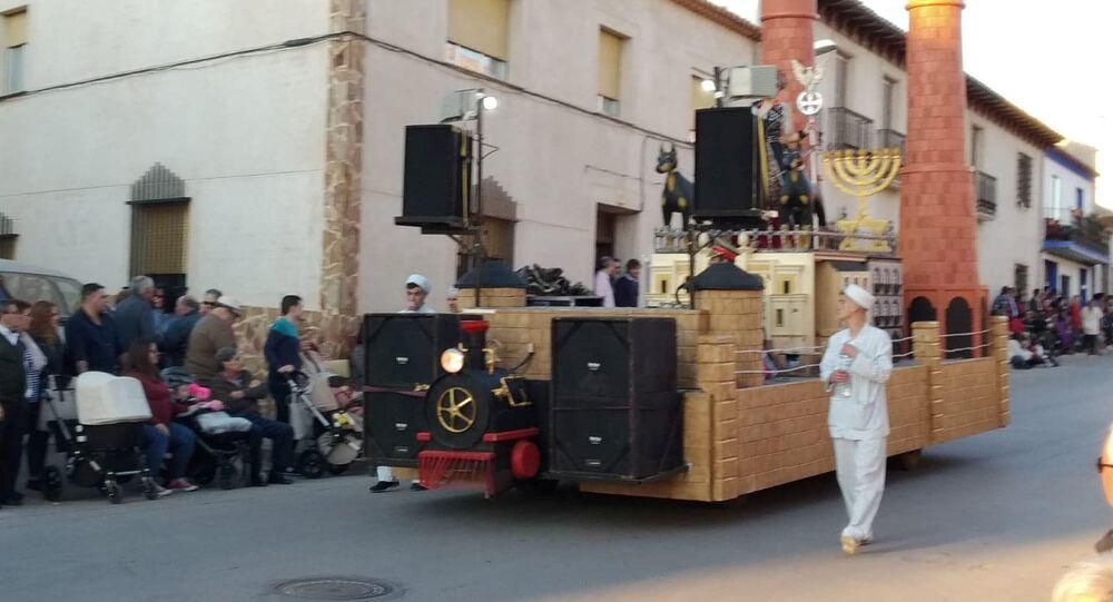 El carnaval polémico de Campo de Criptana en España