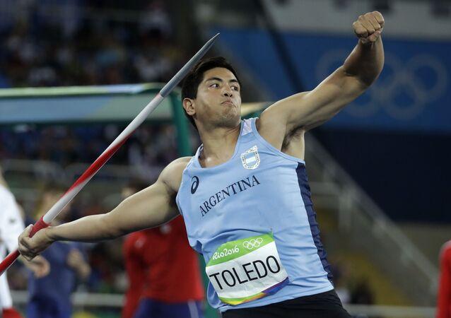 Braian Toledo, atleta argentino