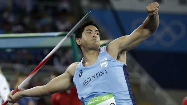 Braian Toledo, atleta argentino - Sputnik Mundo