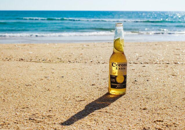 Una botella de cerveza Corona (imagen referencial)