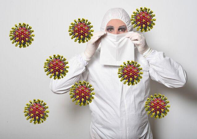 Protección contra el nuevo coronavirus (imagen referencial)
