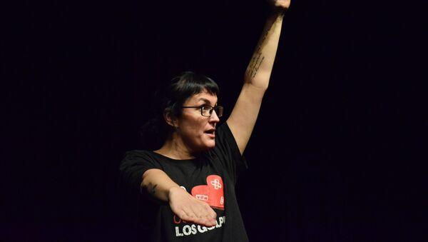 Pamela Palenciano, autor de la obra 'No solo duelen los golpes' - Sputnik Mundo