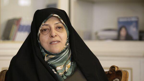 Masoumeh Ebtekar, la vicepresidenta para los Asuntos de la Mujer y la Familia de Irán - Sputnik Mundo