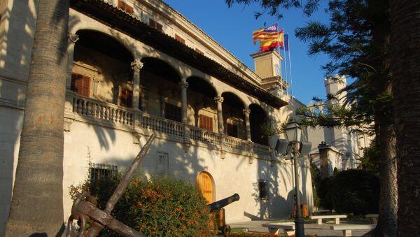 Consolat de Mar, sede del Govern de les Illes Balears en Palma de Mallorca - Sputnik Mundo