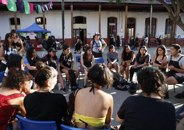 Feministas de Chile (archivo)