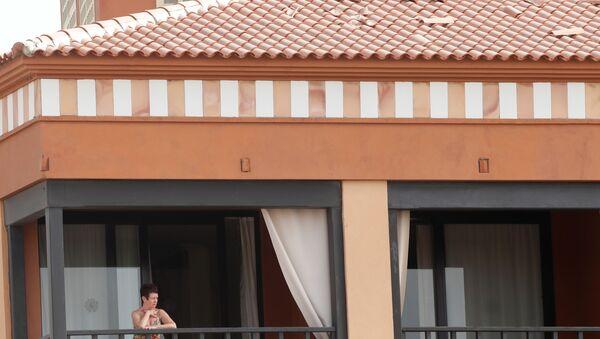 Coronavirus en el hotel aislado por coronavirus en Tenerife - Sputnik Mundo