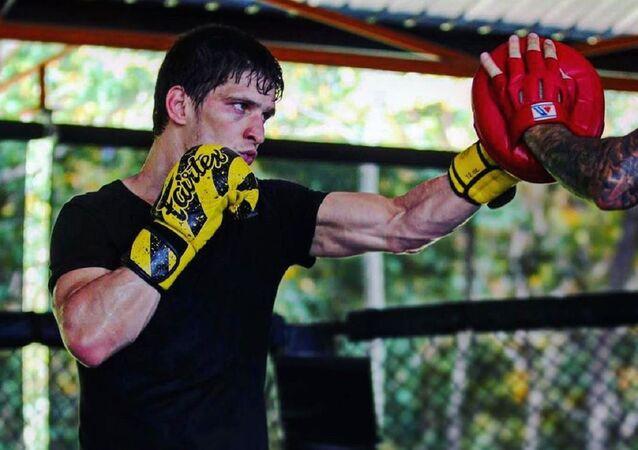 El luchador ruso Movsar Evloev