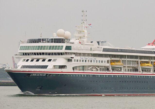 El crucero turístico MS Braemar