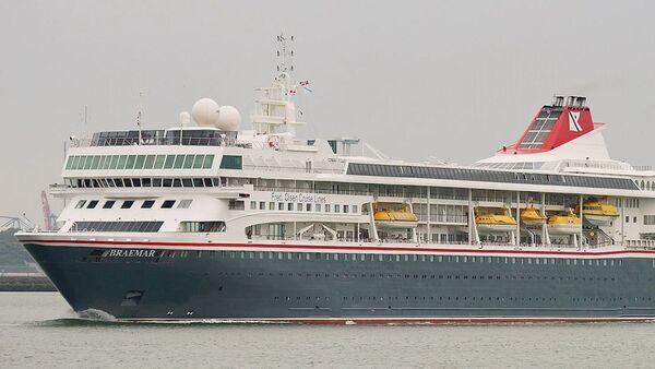 El crucero turístico MS Braemar - Sputnik Mundo