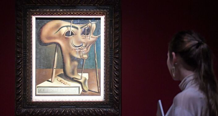 La exposición 'Salvador Dalí. Arte mágico' en Moscú