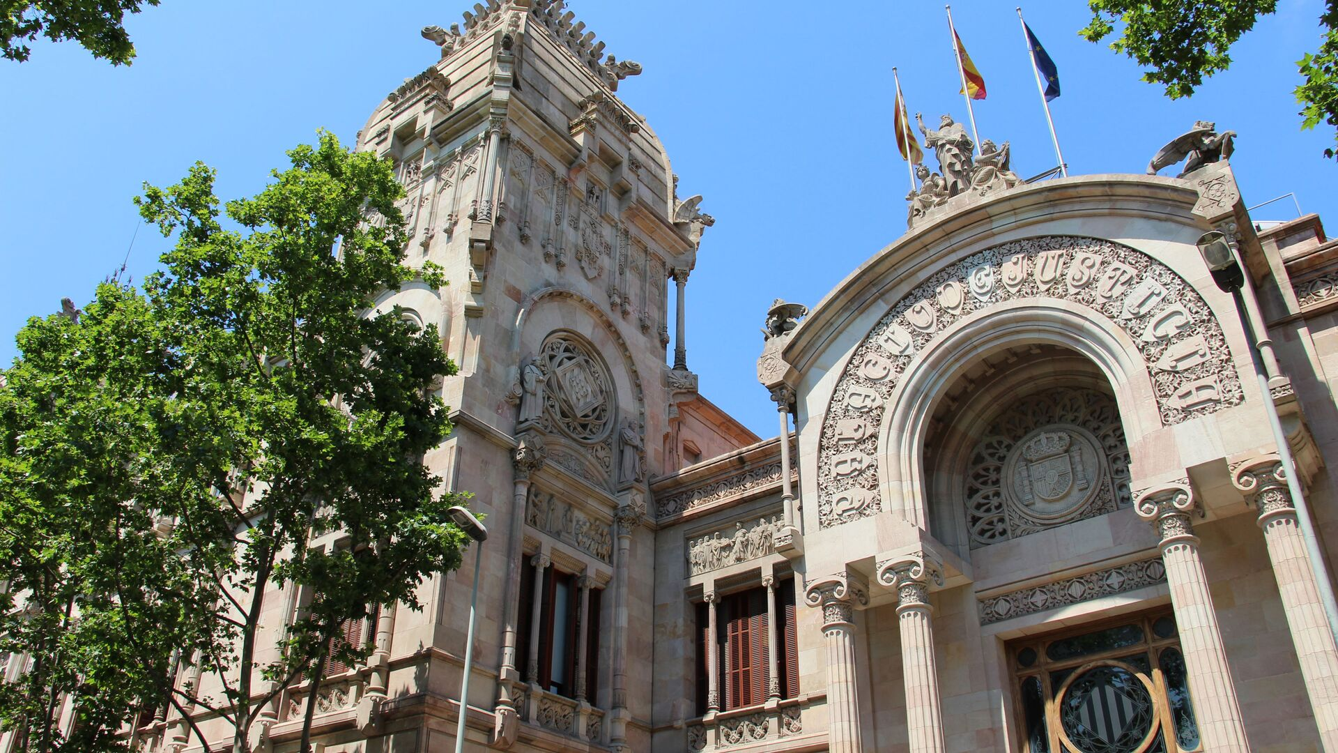 Tribunal Superior de Justicia de Cataluña - Sputnik Mundo, 1920, 16.07.2021