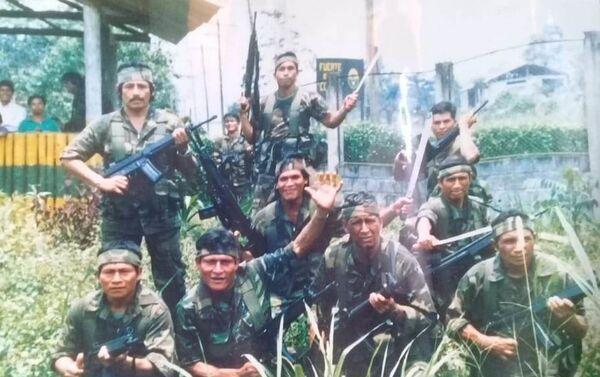 Soldados ecuatorianos antes de tomar parte en la guerra del Cenepa - Sputnik Mundo