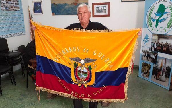 Pablo Terán, exmilitar ecuatoriano y vicepresidente de la Confederación Latinoamericana de veteranos de guerra - Sputnik Mundo