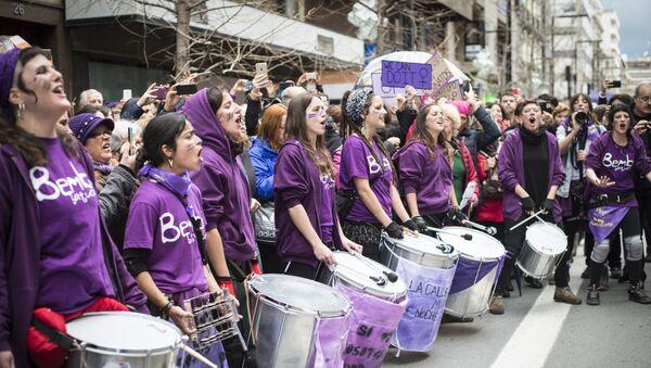 Marcha del 8 de Marzo en Granada - Sputnik Mundo