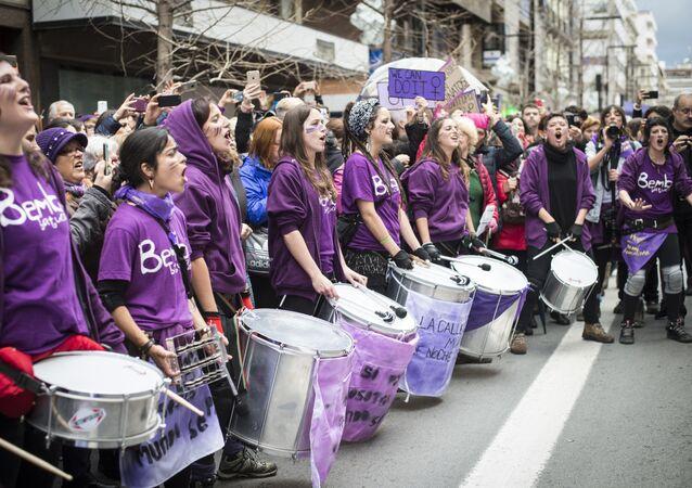 Marcha del 8 de Marzo en Granada