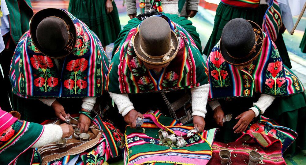 Indígenas bolivianos (imagen referencial)