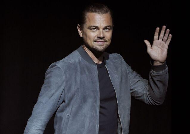 Leonardo DiCaprio, actor de Hollywood