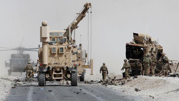 Tropas de EEUU en Afganistán (archivo) - Sputnik Mundo