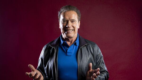 Arnold Schwarzenegger, actor estadounidense - Sputnik Mundo