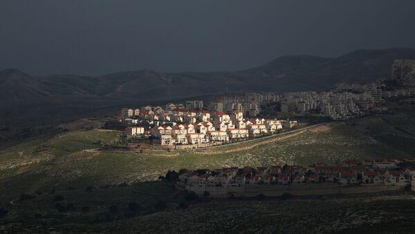 Vista general del territorio de Cisjordania ocupado por Israel - Sputnik Mundo