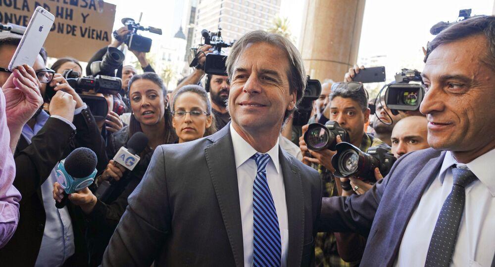 Luis Lacalle Pou, nuevo presidente de Uruguay