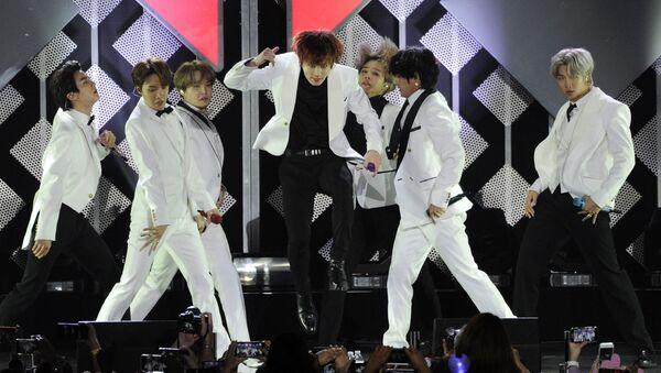 El grupo BTS - Sputnik Mundo