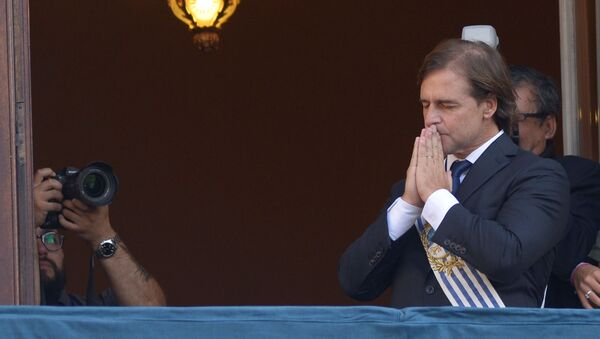 Luis Lacalle Pou, presidente de Uruguay - Sputnik Mundo