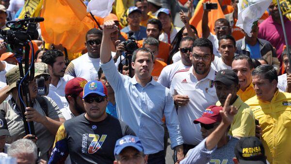 Juan Guaidó, dirigente opositor venezolano - Sputnik Mundo