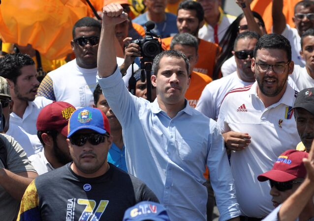 Juan Guaidó, dirigente opositor venezolano